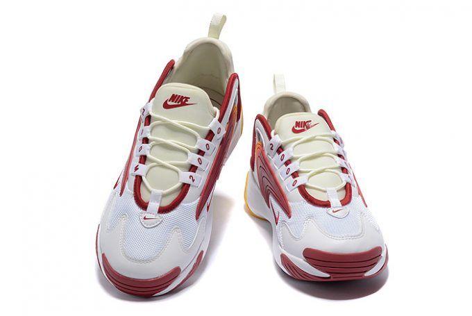 Buy Mens Nike Zoom 2K White Red-Yellow Shoes-1 c13fdba22