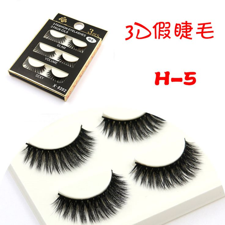 how to put on individual fake lashes