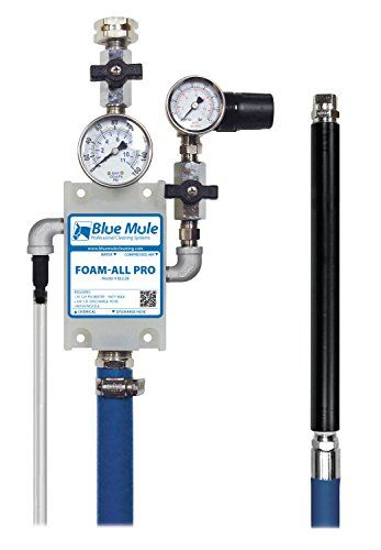 Blue Mule FoamAll Pro Industrial Grade Venturi Chemical Foam Sprayer >>> You can get more details by clicking on the image.