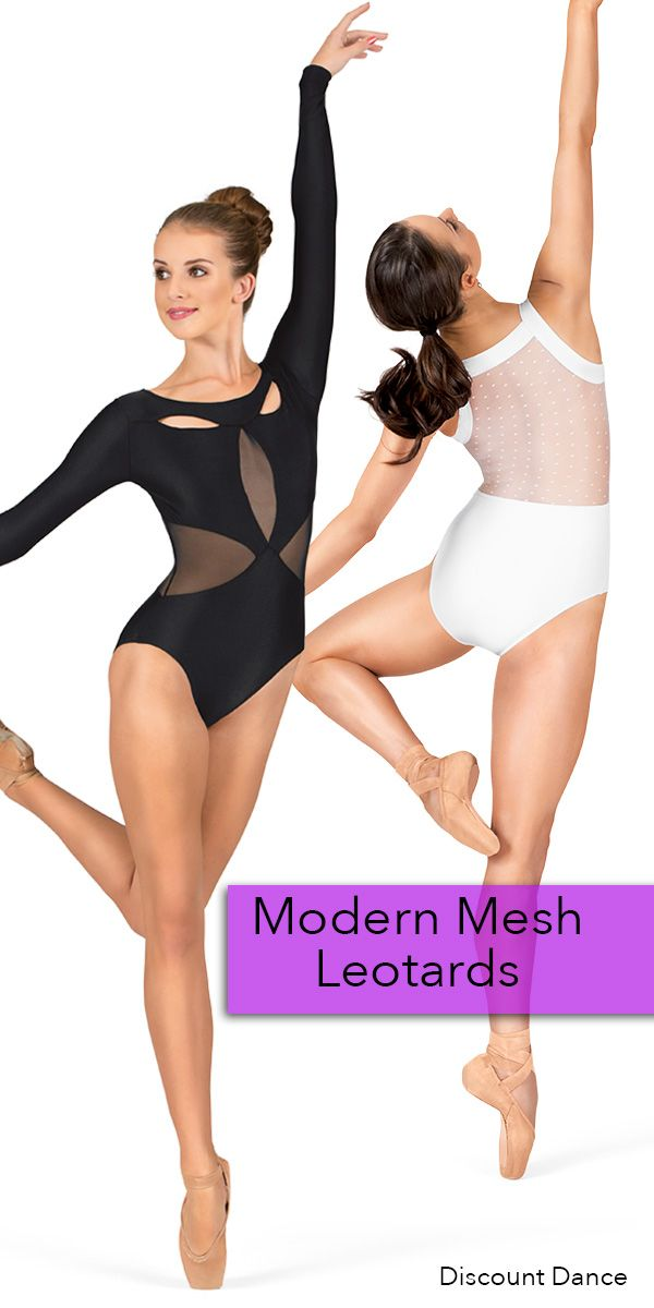 Modern mesh leotards are a huge trend right now in the dance world, and we just love them!