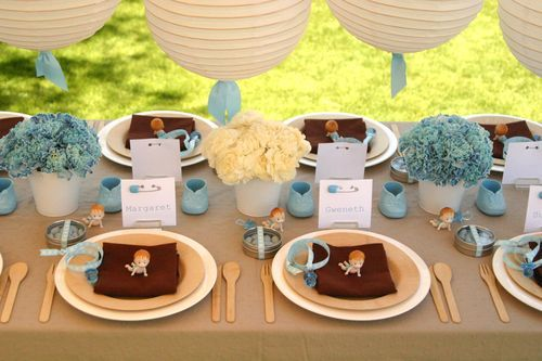 baby shower: Shower Tablescapes, Vintage Baby Showers, Baby Shower Ideas, Google Search, Bebe Shower, Parties Ideas, It A Boys, Fabricio Babyshower, Babyshower Deco
