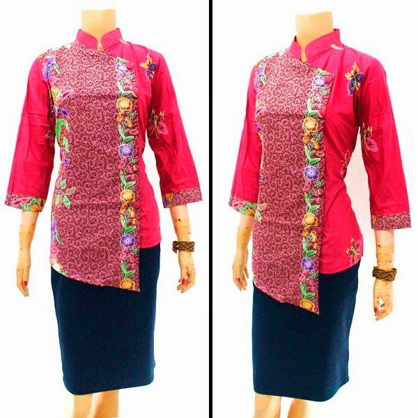 Model Blouse Batik Motif Encim Call Order : 085-959-844-222, 087-835-218-426 Pin BB 23BE5500 Model Blouse Batik Motif Encim  Harga: Rp.95.000.-/pcs | stock 5 pcs  ukuran: Allsize