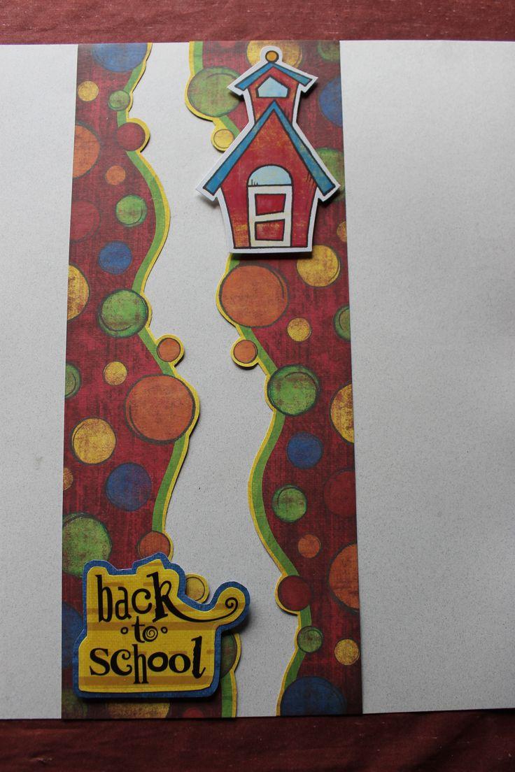 Elementary school scrapbook ideas - Primary Pp Elementary School Addition Creative Memories Scrapbooking Layoutscreative