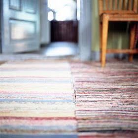 Scandinavian Retreat: Swedish rag rugs, summer
