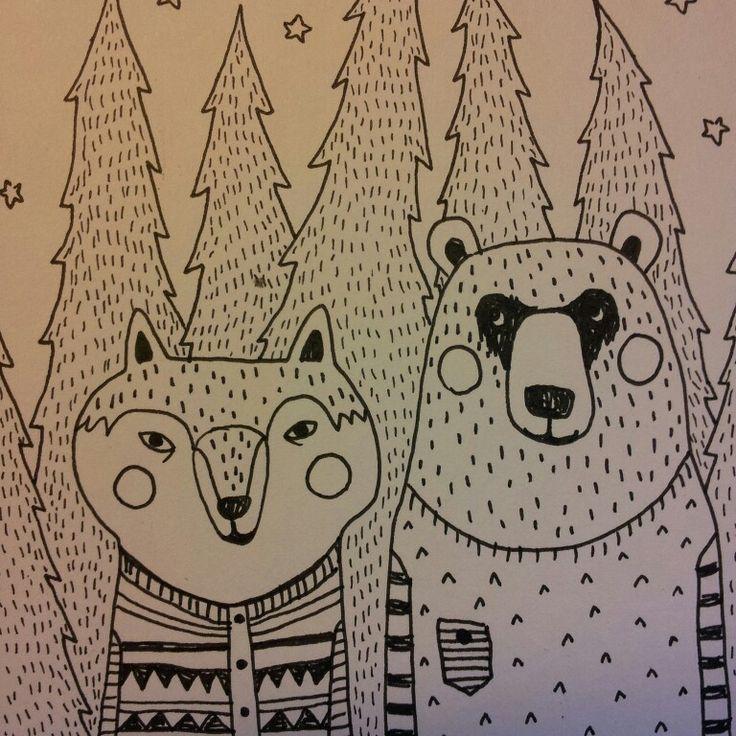 mira mallius: Wolf ♡ Bear