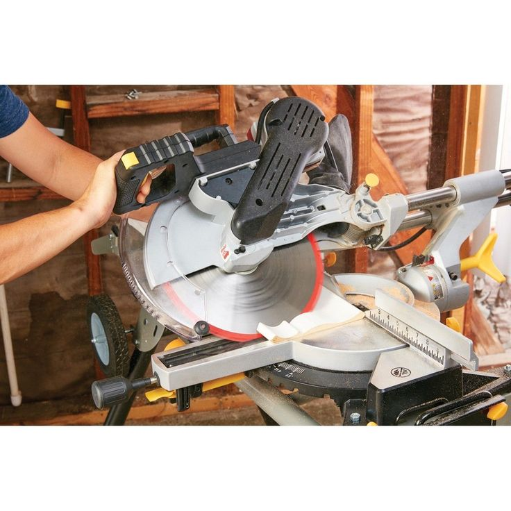 DIY  Tools Dewalt 12 Dual Bevel Sliding Compound Miter Saw