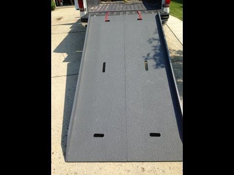 How to Build a truck ramp. By How-to Bob