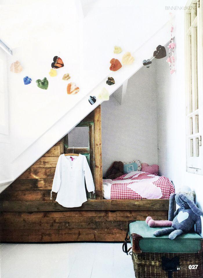 Dutch children's rooms - via vtwonen