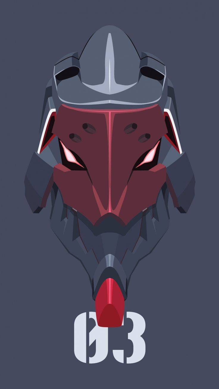Eva 03 iPhone 5 wallpaper