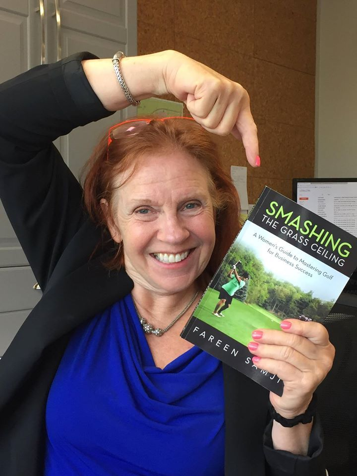 Smashing the Grass Ceiling: A Women's Guide to Mastering Golf for Business Success by Fareen Samji. A fantastic read which teaches women how to successfully utilize the game of golf and turn it into business success. Using golf as a social and business networking tool whilst enhancing your overall skill and confidence on the course. The knowledge I have gained regarding golf equipment and etiquette are well worth the read.