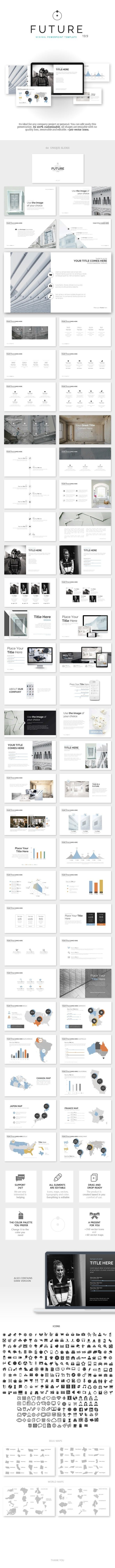 186 best graphic design presentation designs images on pinterest future minimal powerpoint template presentation slidespresentation designpresentation templatesarchitectural toneelgroepblik Image collections