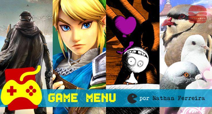 Game Menu Setembro: os guerreiros do destino, o bebê e o pombo #games #jogos #gamers #gamer #psn #live #xbox #xone #ps3 #ps4 #3ds #wiiu #nintendo #sony #microsoft #FFCultural #FFCulturalJogos #FFCulturalGameMenu