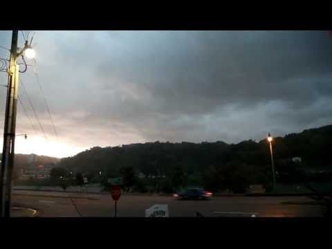 Derecho Storm in Charleston, WV on June 29th, 2012