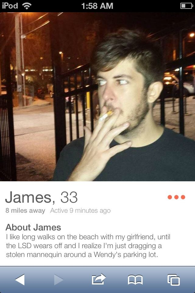This guy's tinder bio... - Imgur. First good laugh of the day.