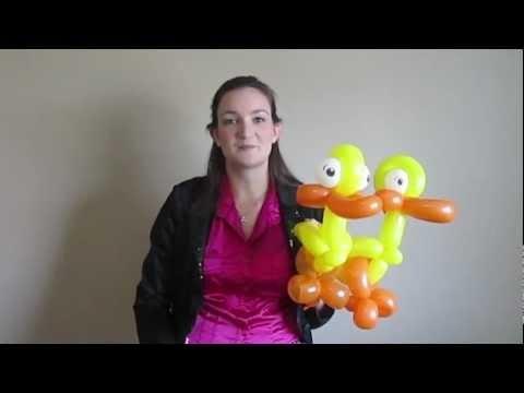 Duck Balloon Tutorial