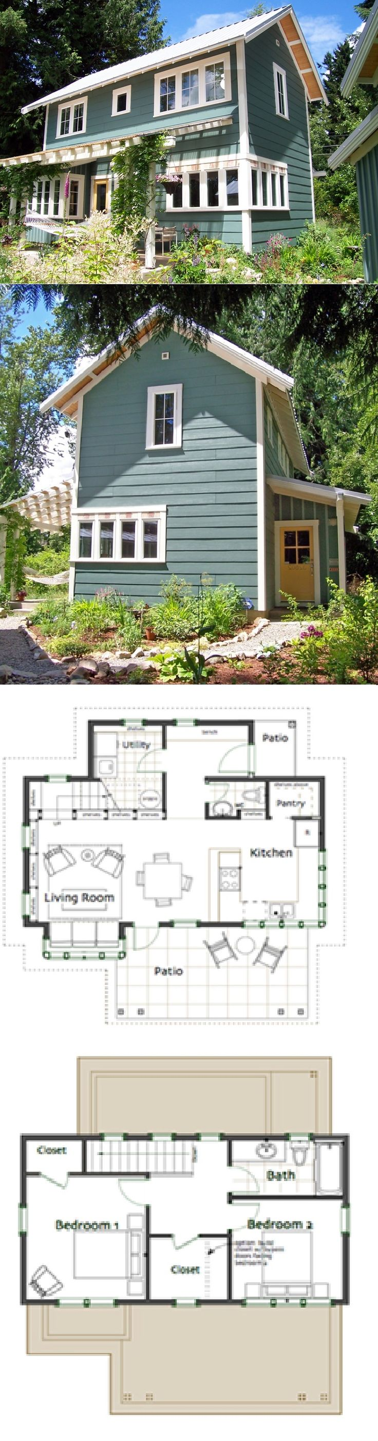 best 25 small house plans ideas on pinterest small house floor ross chapin architects brightside cottage 1086 sq ft