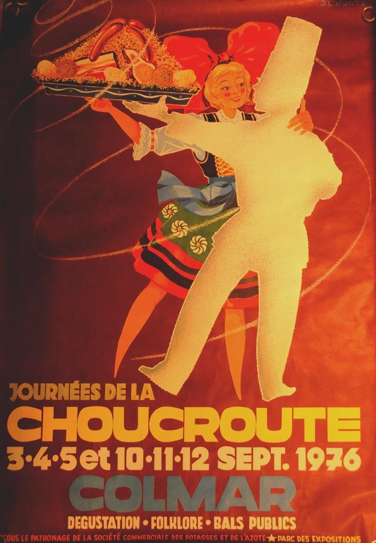 Colmar, France - Journees de la Choucroute (Sauerkraut Days) 1976
