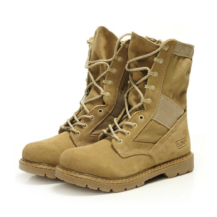 108.00$  Buy now - http://aliqbe.worldwells.pw/go.php?t=32647960904 - 2016 Men Military Boots special forces tactical combat boots breathable outdoor shoes Mid-calf boots Infantry special boots