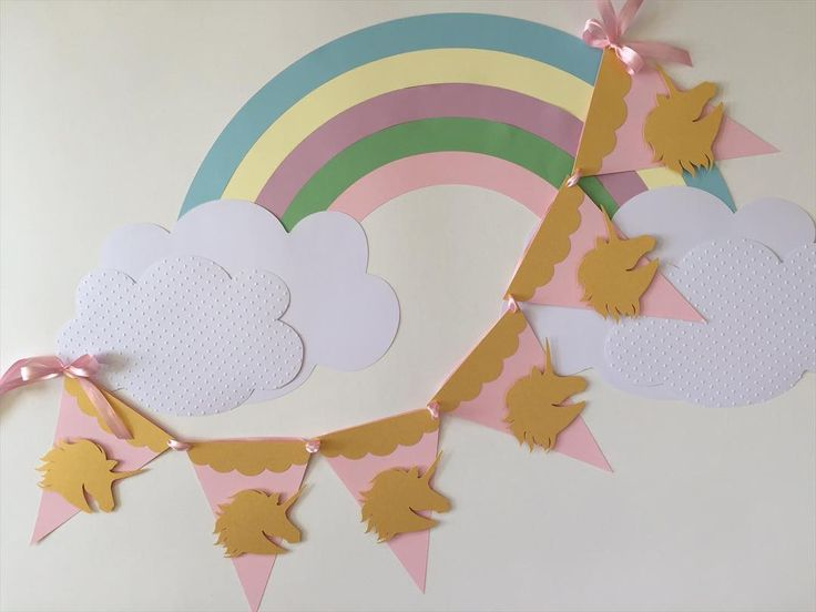 Las 25 mejores ideas sobre unicornio arcoiris en for Decoracion para pared unicornio