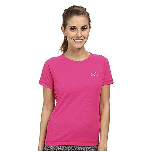 (CW-X) CW-X レディース トップス 半袖シャツ S/S Ventilator Mesh Top 並行輸入品  新品【取り寄せ商品のため、お届けまでに2週間前後かかります。】 カラー:Pink カラー:ピンク
