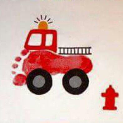 Fire engine footprint