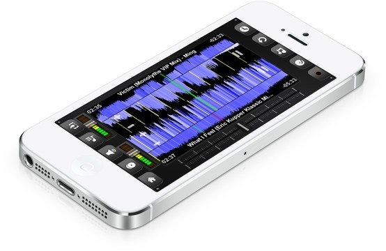 All new DJ Mixer App for iPhone