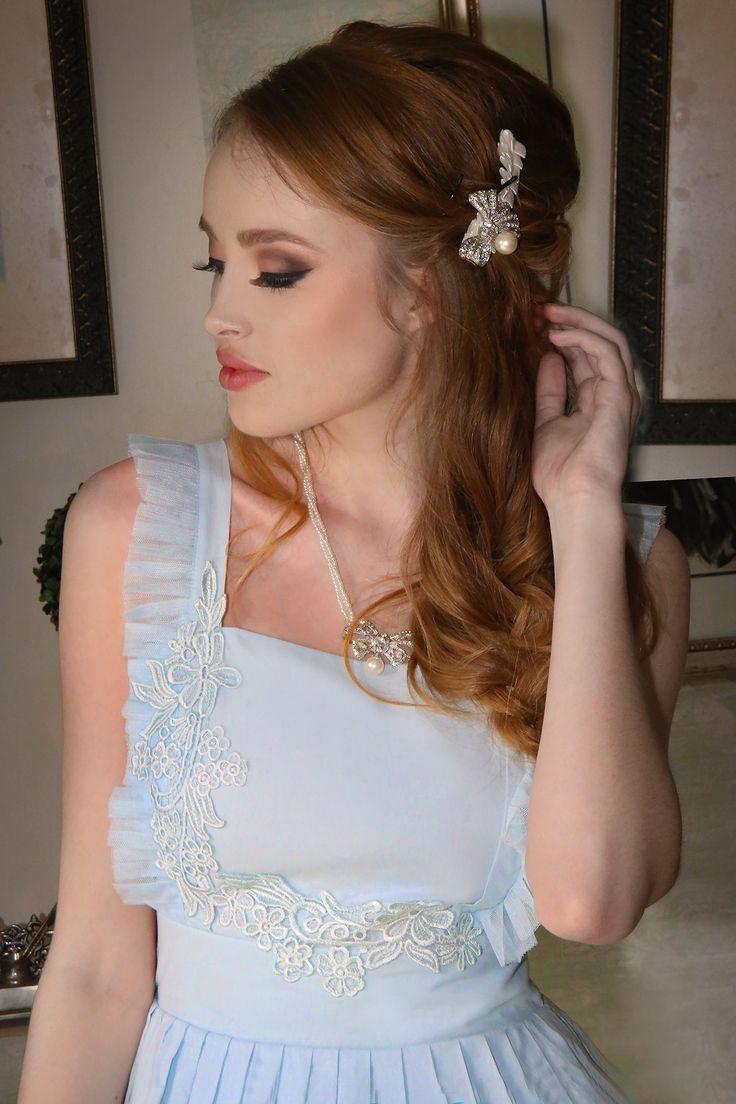 Prima Ballerina Blue Dress