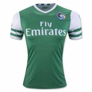 New York Cosmos 16-17 Season Away Green Soccer Jersey [H100]