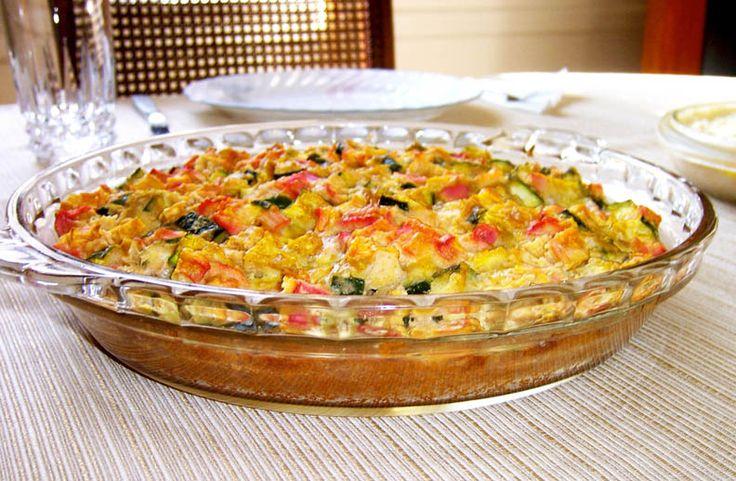Paleo Coconut Custard (Zucchini) Pie