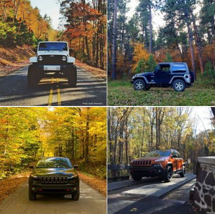 Seasons change but love of a Jeep 4x4 is forever.   Stop in now for some amazing deals on new and pre-owned jeeps at Glockner of Ashland where We Make Ownership Easy! #LoveJeep