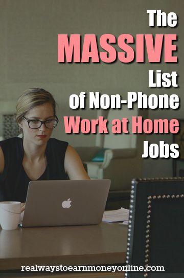 list of 100 non phone work from home jobs - Fun Jobs That Pay Well List Of Cool Jobs That Pay Well