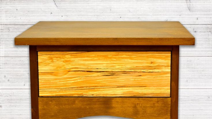 How To Make Drawers for the Bedside Tables.