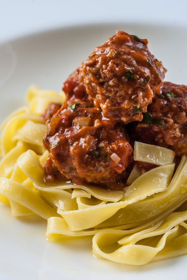 This delicious pork meatball recipe is brimming with Italian flavours, such as fresh sage, olive oil and fennel.