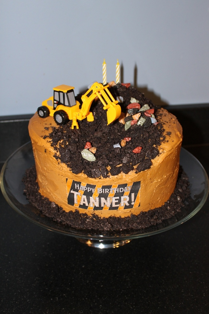 17 Best Images About Caterpillar Heavy Equipment Cakes On