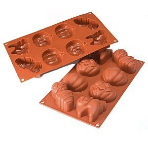 Silicone Mold: Halloween Multiple Cavity Silicone Baking Molds - BakeDeco.Com
