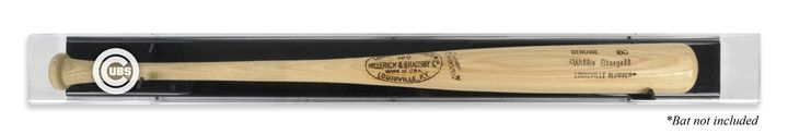 Chicago Cubs Logo Deluxe Baseball Bat Display Case