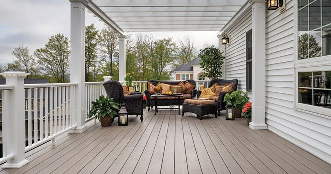 A new deck can add value to your home and increase your living space. This blog talks about  some popular material options you have while installing a deck