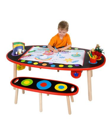Take a look at this Super Art Table by ALEX on #zulily today!