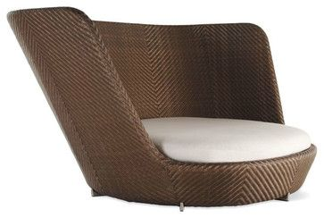 Adult Floor Chair | Scoop Nest Chair - contemporary - outdoor chairs - by Design Within ...