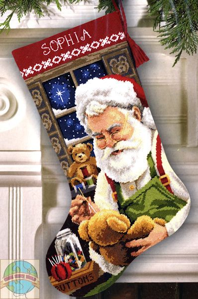cross stitch holiday workshop xmas stocking - Căutare Google