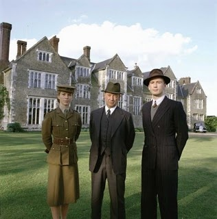 Foyle's War. Wonderful police mystery series that takes place during and immediately after WWII.