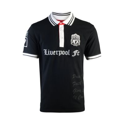 LFC Mens Black Forward Polo Shirt | Mens | Clothing | Liverpool FC Official Store