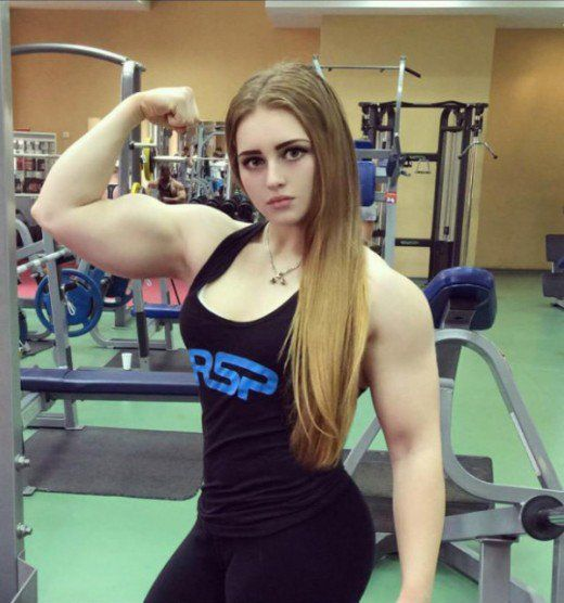 Julia Vins is a Russian powerlifter & may be the strongest woman in the world. She has 3 powerlifting records & is only 20 years old.