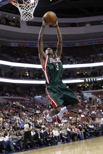 #1 - Brandon Jennings, PG Milwaukee Bucks