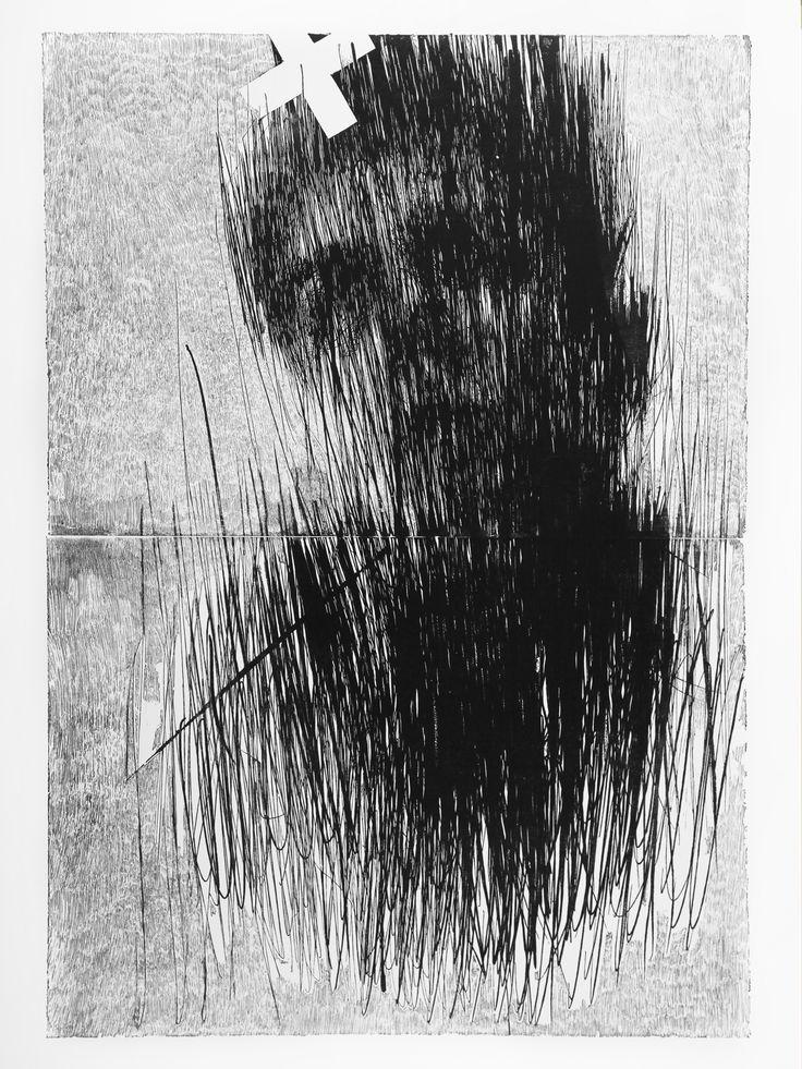 Skruszony, Szymon Ryczek, Gipsoryt, 140 x 100 cm, 2015