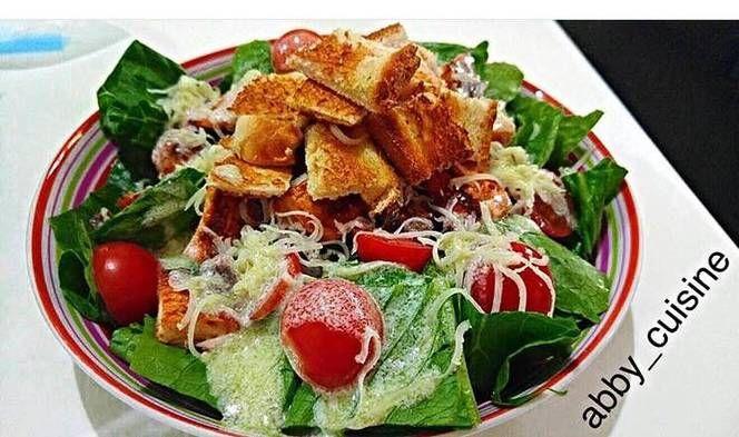 طريقة عمل البهارات الايطاليه بالصور من Abby Cuisine Recipe Food Salad Cobb Salad