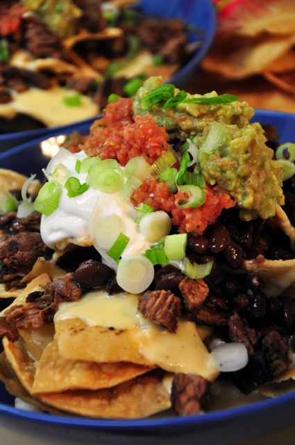 Grilled Steak Nachos...made this, and OH IS IT TO DIE FOR. The steak marinade truly is the best I have EVER eaten. And the salsa recipe--amazing. The cheese sauce didn't turn out for me, but I'm not claiming to be perfect. BEST EVER.