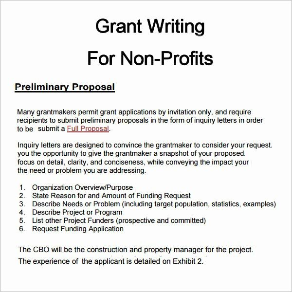 Non Profit Proposal Template Elegant 6 Grant Proposal Templates Pdf Doc Download In 2021 Grant Proposal Writing Free Business Proposal Template Grant Proposal