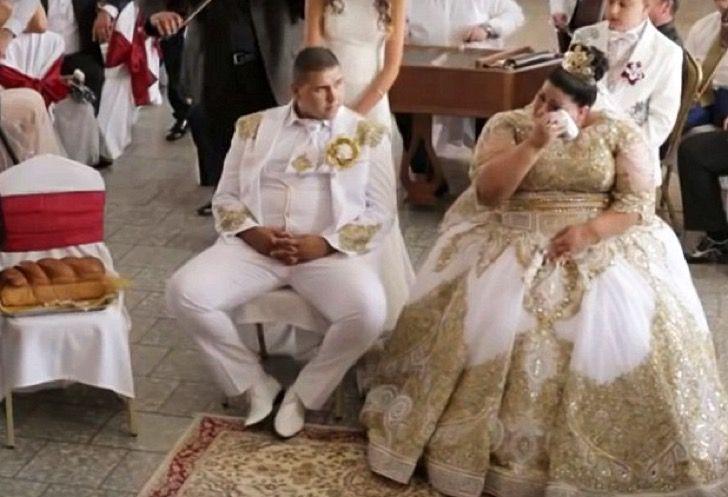 Esta chica utilizó un vestido de más de 220 mil dólares para una boda gitana de alto peso