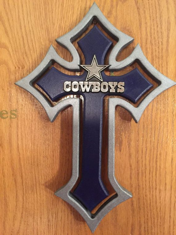 15in point double insert Dallas Cowboys cross